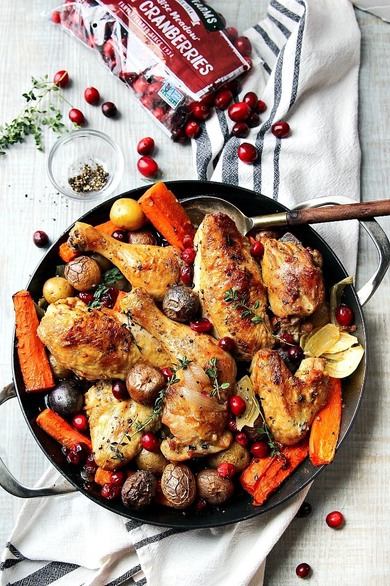 Weekly meal plan: Skillet Chicken at Garden in the Kitchen