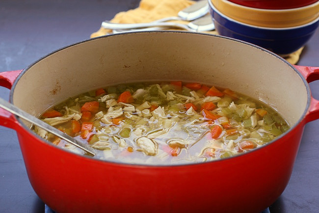 Healthy Soups: Homemade Chicken Soup by Jane Sweeney | Cool Mom Eats