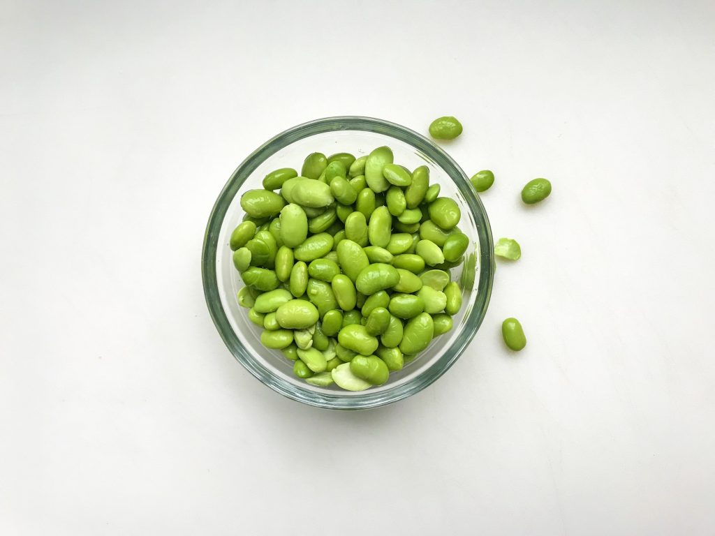 Clever ways to add more protein to your kid's diet: edamame | © Jane Sweeney Cool Mom Eats