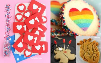 9 extremely cool Valentine cookies for teens, no cutesie stuff