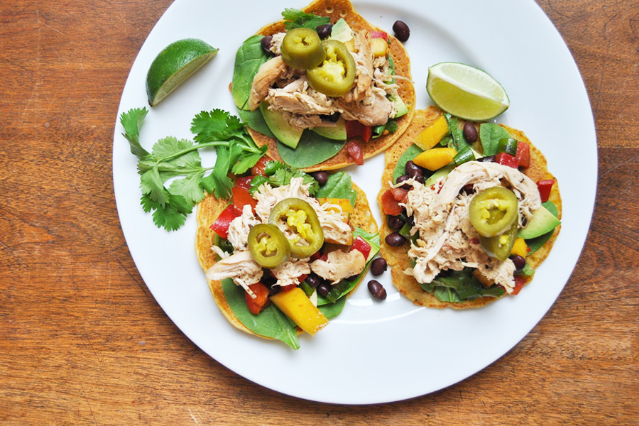 The easiest, most versatile slow cooker pulled chicken recipe that the whole family swears by
