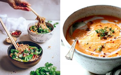 "7 healthy soup recipes to warm you up when the temperature hits ""too cold to say out loud."""