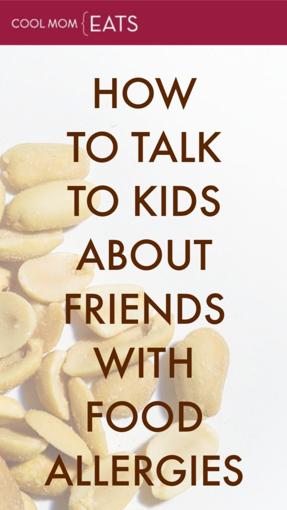 How to talk to kids about friends with food allergies: What to say and why it's important