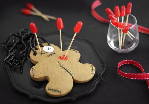 Valentine's Cookies for teens: Voodoo doll Valentine's Cookies by Sprinkle Bakes for the Etsy Blog