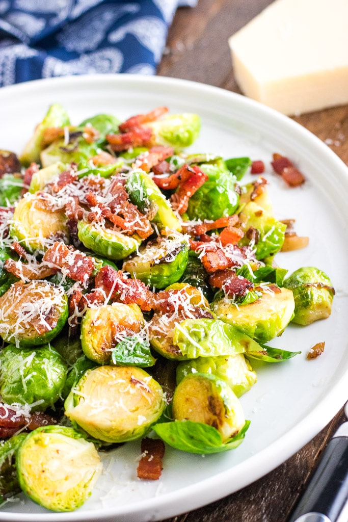 Weekly meal plan: Brussels Sprouts at Kylee Cooks