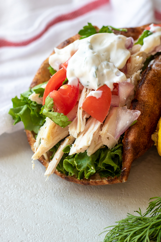 Weekly meal plan: Chicken Gyros at Mind Full Mom
