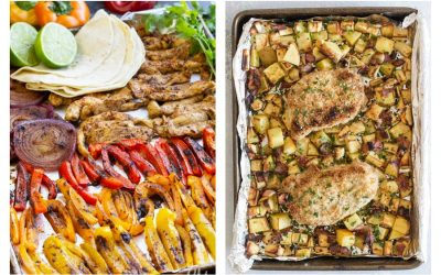 Weekly meal plan: 5 easy meals for the week ahead, including sheet pan dinners for busy nights