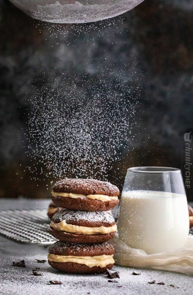 Weekly meal plan: Tiramisu Whoopie Pies at The Chunky Chef