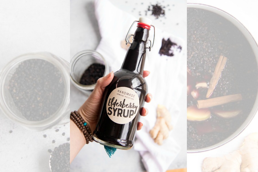 The one elderberry syrup recipe you need for cold and flu season. (And yes, you really do need it.)