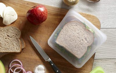 4 of the best plastic bag alternatives to help us reduce school lunch waste and save money