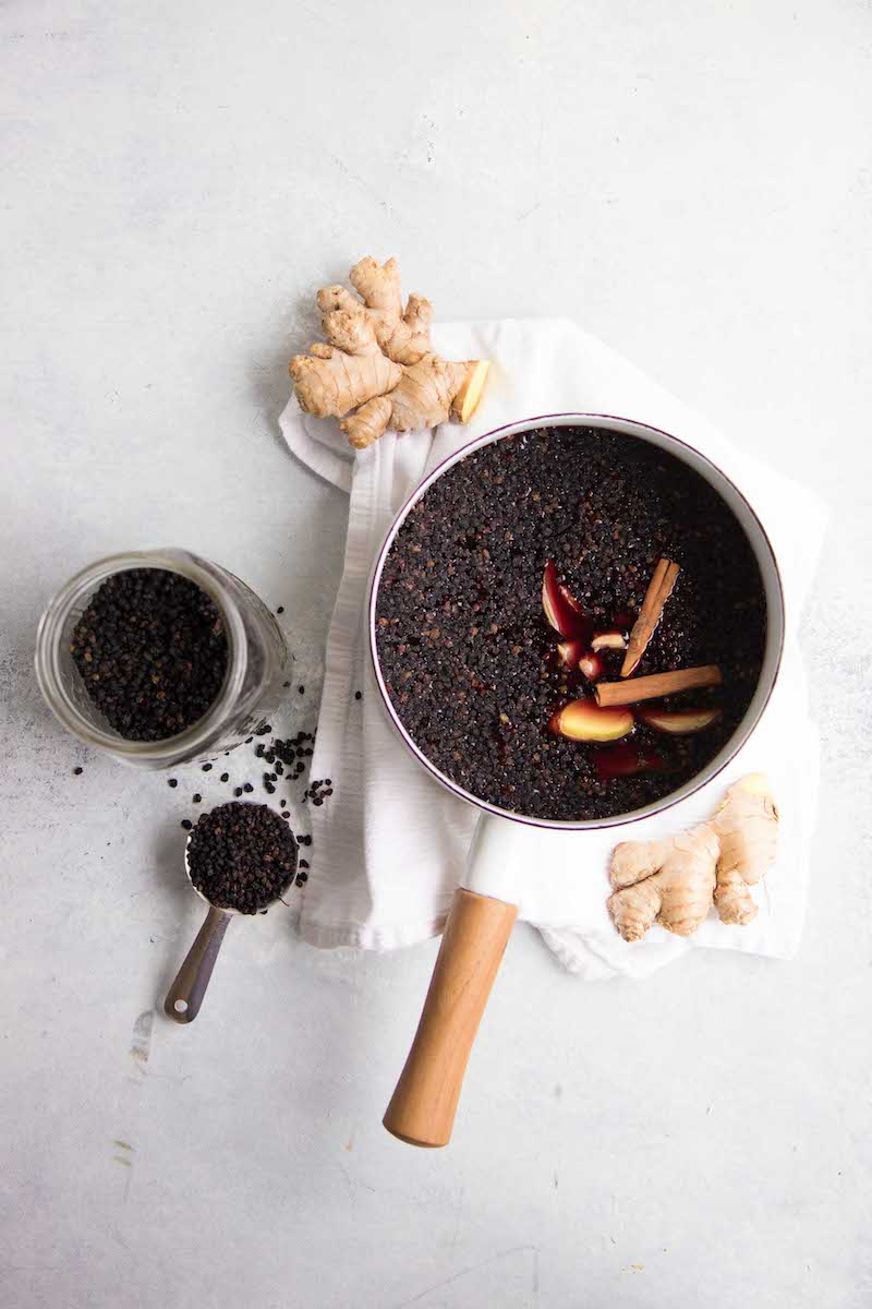 The one elderberry syrup recipe for cold and flu season: Wholefully's recipe has everything you need!