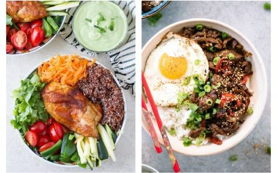 Weekly meal plan: 5 easy meals for the week ahead including easy DIY dinner bowls for picky eaters