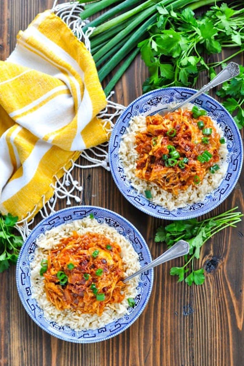 Weekly meal plan: Hawaiian chicken at The Seasoned Mom