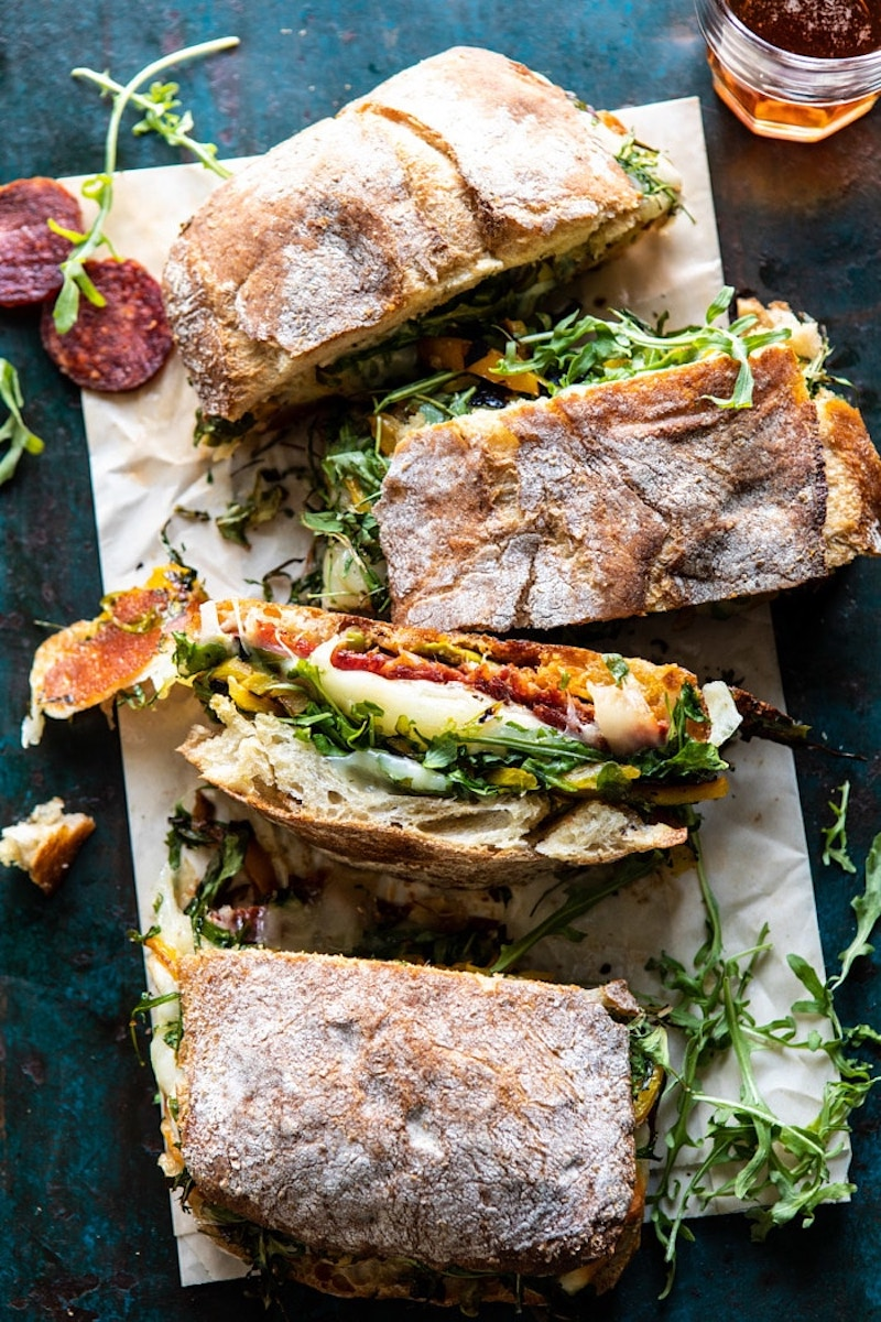 Weekly meal plan: Italian Sub at Halfbaked Harvest