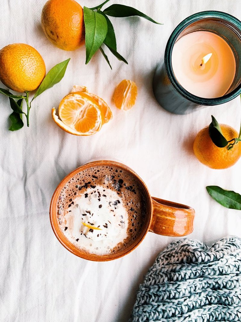 Weekly meal plan: Orange Hot Chocolate at Foody First