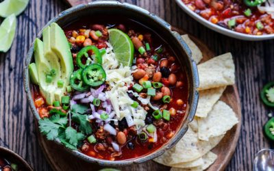 Weekly meal plan: 5 easy meals for the week ahead, including a fantastic chili recipe and a great use for Thin Mints