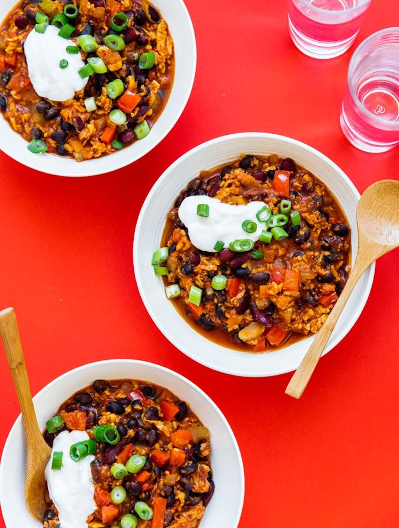 Weekly meal plan: Vegan Chili at Live Eat Learn