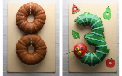 How to cut number cakes for birthdays: Find a DIY for every number at So Yummy