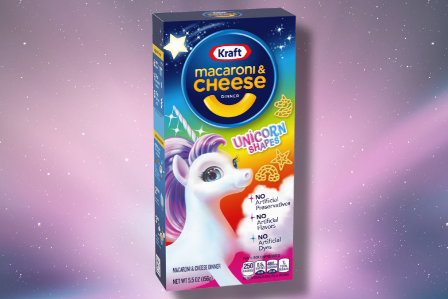 Unicorn mac n cheese: It was only a matter of time