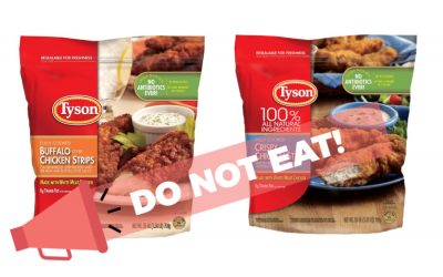"A new Tyson chicken recall involves 69,000+ pounds of chicken, with a health risk classification of ""high"""