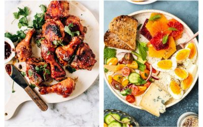Weekly meal plan: 5 easy meals for the week ahead, including sweet & sticky BBQ chicken and a delicious mezzo platter for grazing