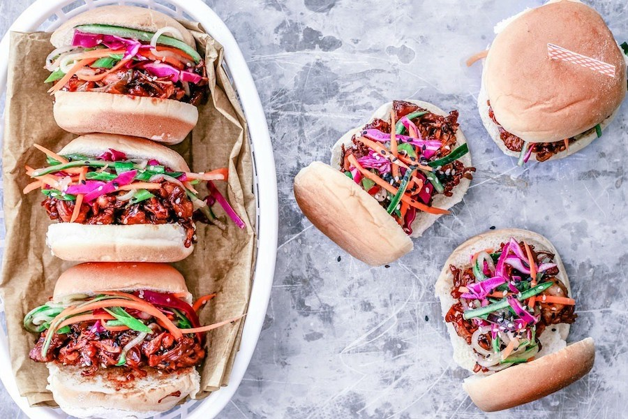 Weekly meal plan: Korean jackfruit BBQ sliders at Killing Thyme