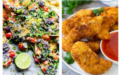 Weekly meal plan: Nachos at iFoodreal and Chicken Tenders at Dinner at the Zoo