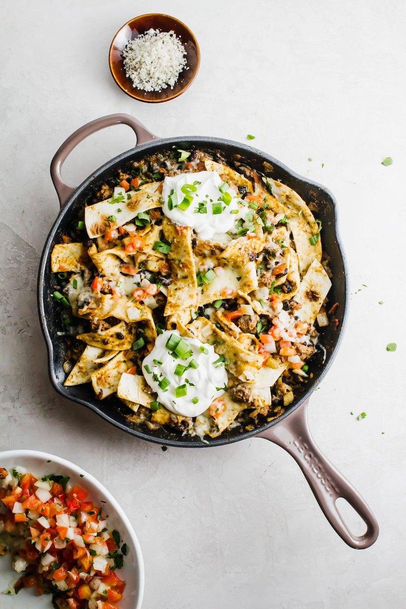 Weekly meal plan: Beef Burrito Skillet at Aimee Mars