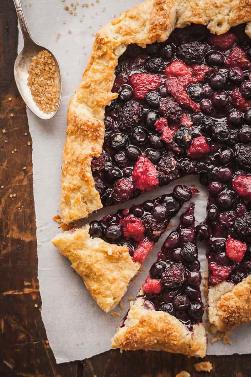 Weekly meal plan: Brienne of Tart galette inspired by Game of Thrones at The Live In Kitchen