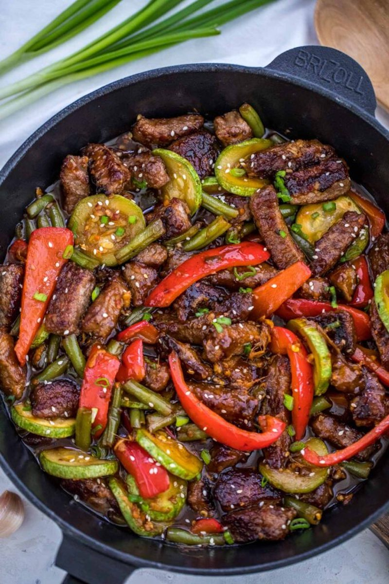 Weekly meal plan: Hunan Beef at Sweet and Savory Meals