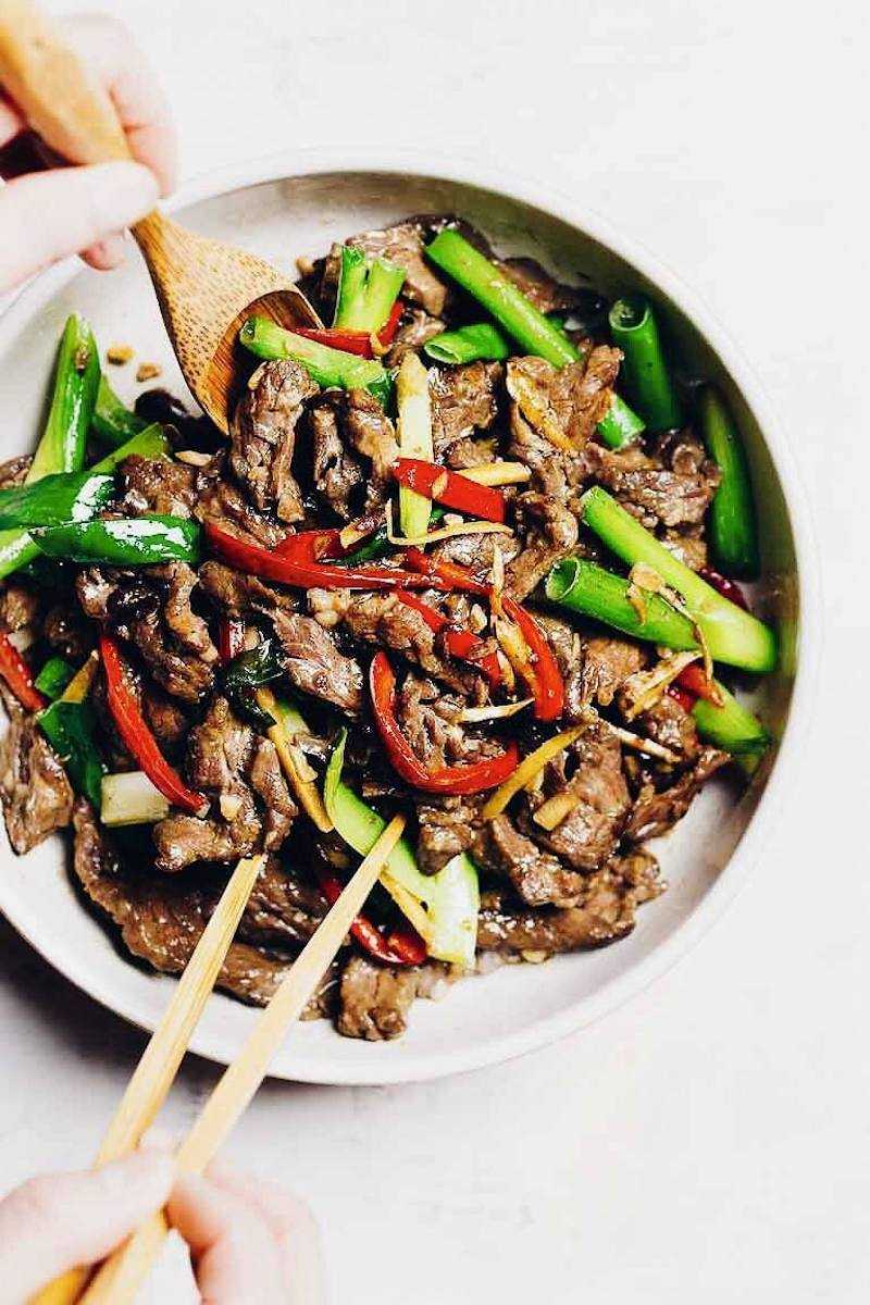Weekly meal plan: Paleo Mongolian Beef at I Heart Umami