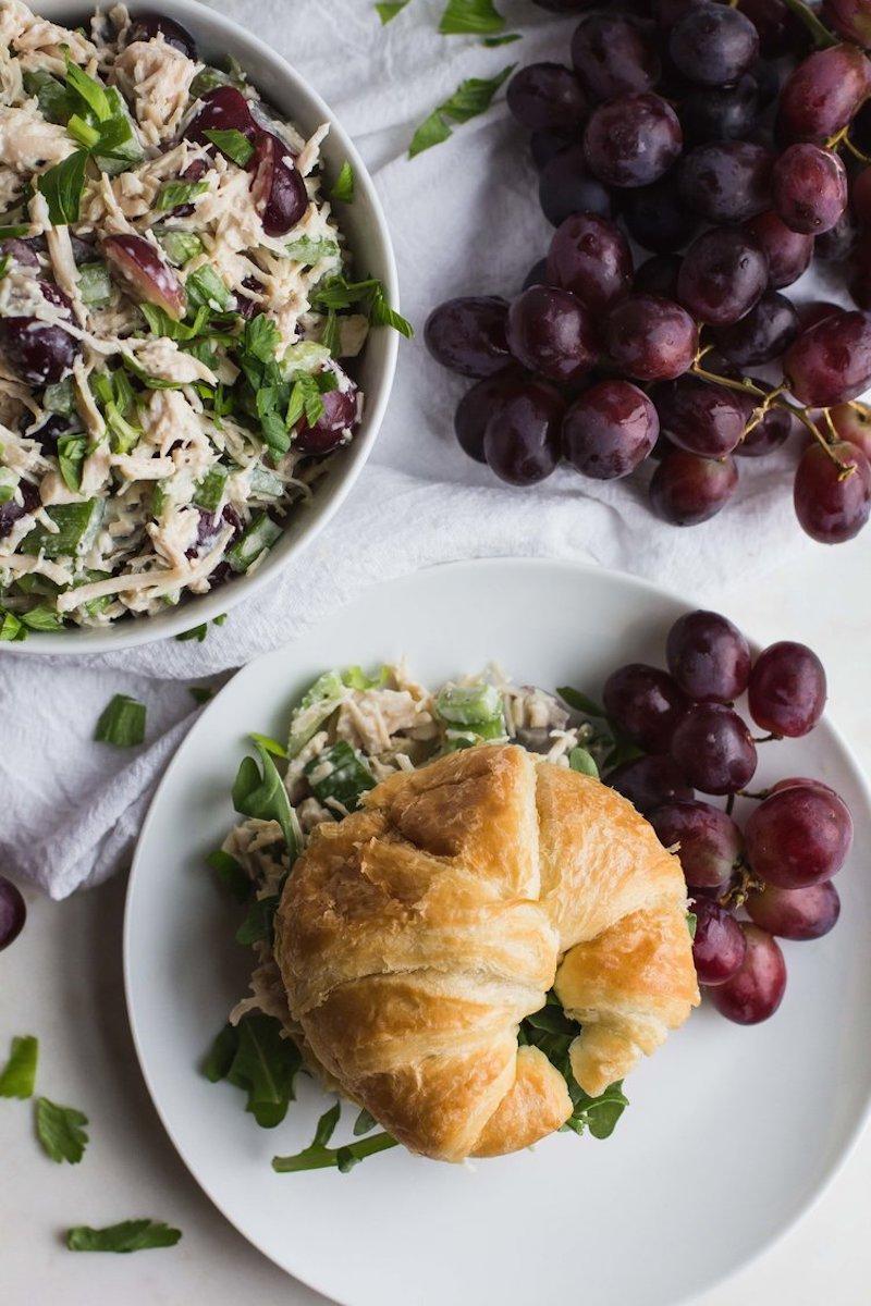 Weekly meal plan: Chicken Salad Sandwiches at Sara J. Hauser