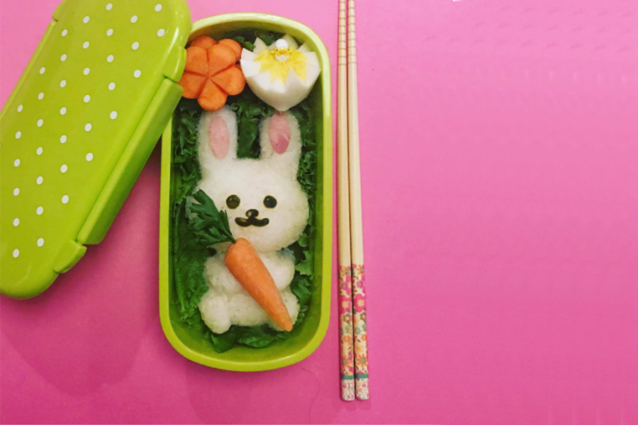 This Easter bunny bento kit is everything! Well, everything except 3 simple ingredients