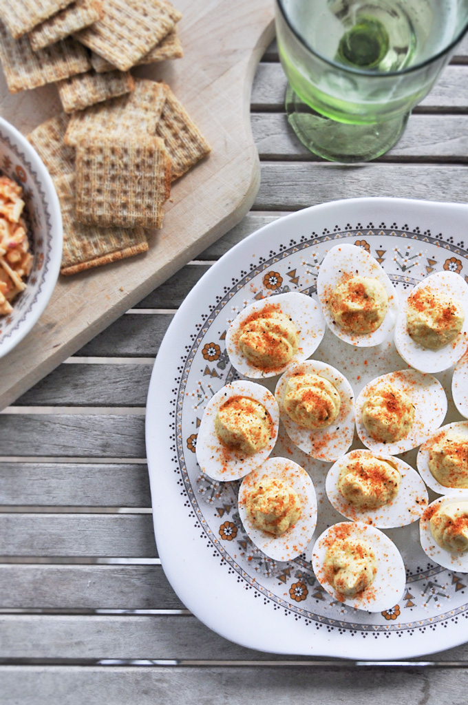 Easy Deviled Eggs by Anne Wolfe Postic | Cool Mom Eats