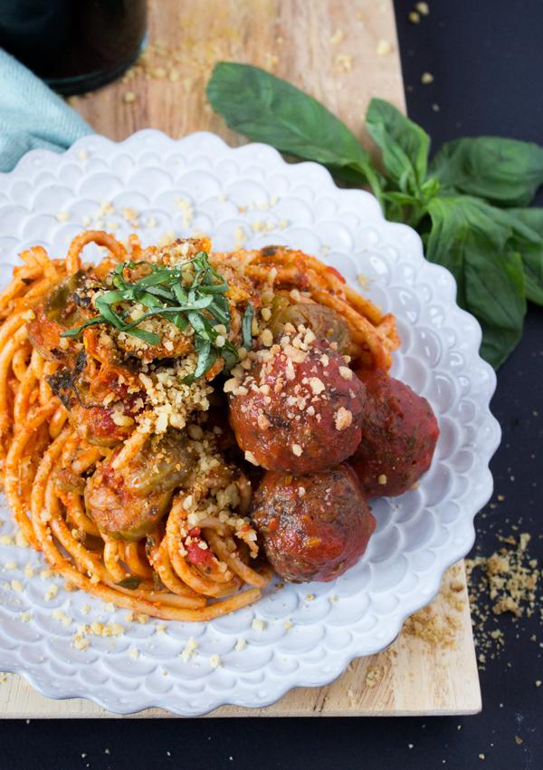 Variations on meatballs for dinner: Vegan Lentil Meatballs from Jenné | Sweet Potato Soul