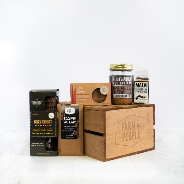 Mother's Day food gifts: The Farm to People Buzzed Bundle is perfect for the caffeine-obsessed