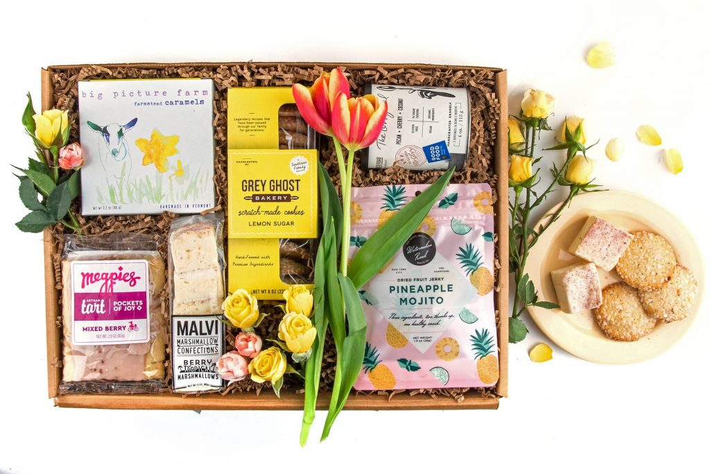 Mother's Day food gifts: This indie taster box from Mouth Foods is filled with artisanal goodies