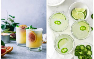 Cinco tasty, creative tequila cocktail recipes for Cinco de Mayo.