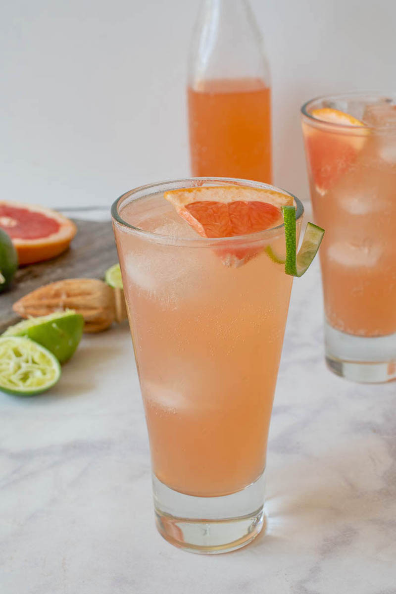 Tequila cocktail recipes: Tequila Paloma at Culinary Ginger