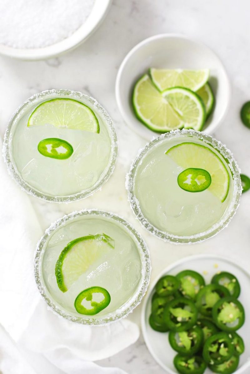 Tequila cocktail recipes: Spicy Margaritas at Zested Lemon