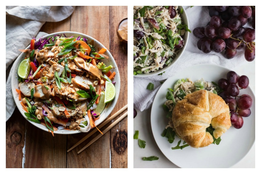 Weekly meal plan: 5 easy meals for the week ahead, including an easy picnic dinner and a light Thai noodle bowl