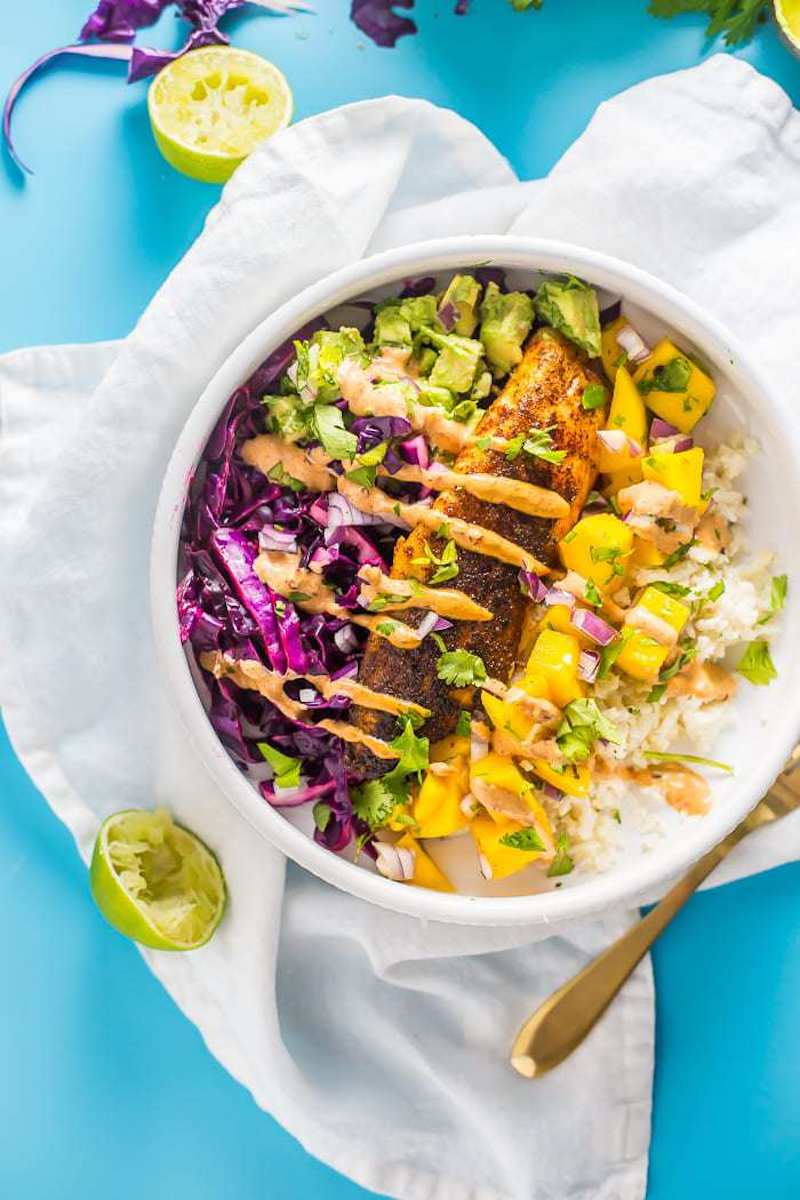 Weekly meal plan: Fish Taco Bowls at 40 Aprons