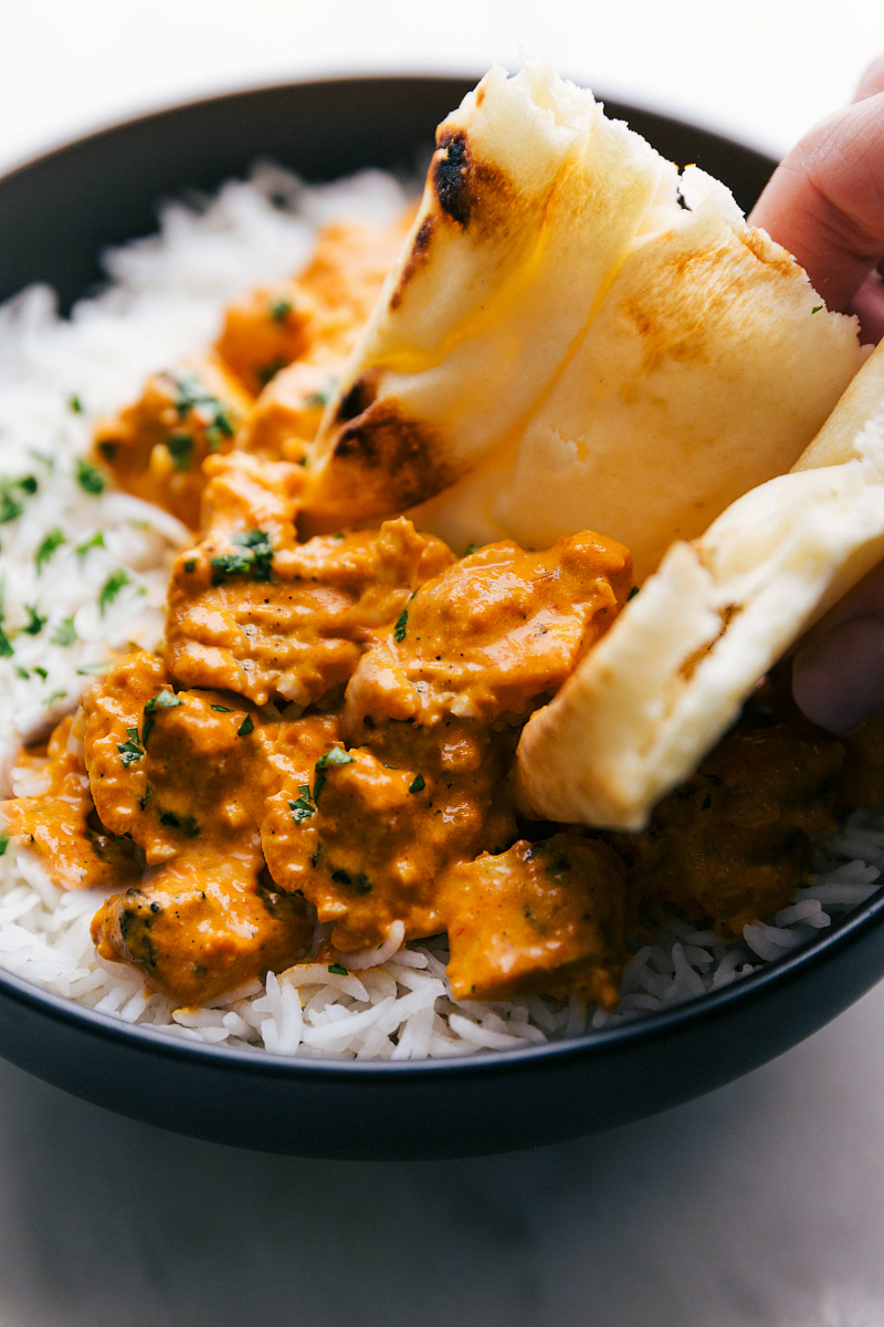 Weekly meal plan: Chicken Tikka Masala at Chelsea's Messy Apron