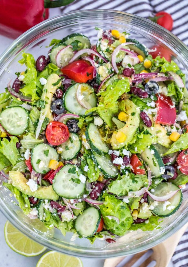 Weekly meal plan: Mexican salads at Sweet & Savory