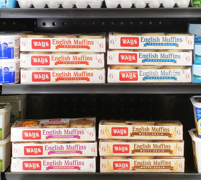 Where to find Bays English Muffins: In the refrigerated section at your local grocery store | sponsor