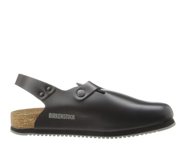 Best Chef Shoe for Comfort: The Birkenstock Tokyo Leather Work Shoe, according to our pro chef friends