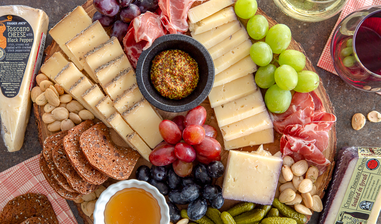 The best Trader Joe's products for Memorial Day parties: affordable cheeses, and tips for putting together a great cheese plate