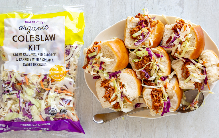 The best Trader Joe's products for Memorial Day parties: Organic Coleslaw Kit
