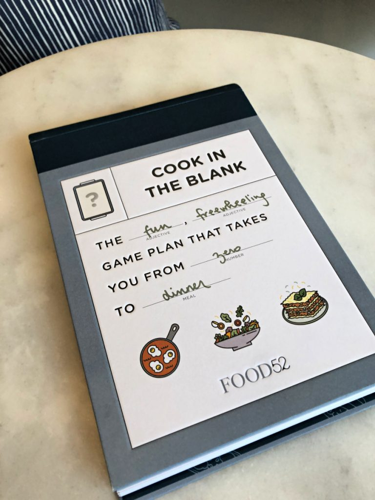 Cook in the Blank: The new fill-in-the-blank cookbook by Food 52