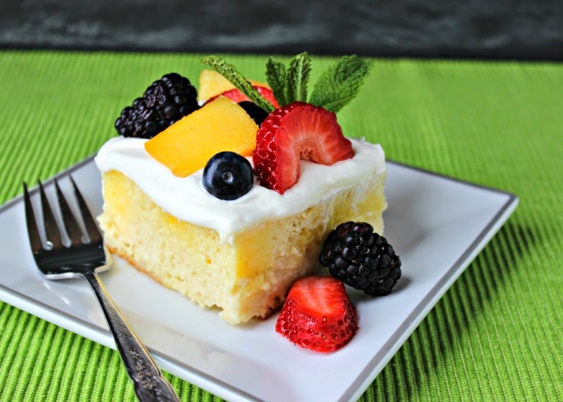 Easy Mother's Day cake recipes: Tres Leches cake at Renee's Kitchen Adventures